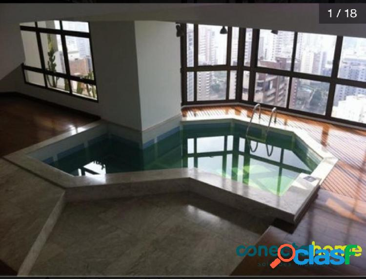 Apartamento de 370 m², 3 suítes, 5 vagas na vila andrade