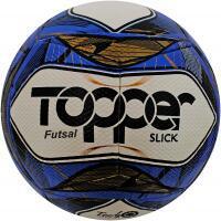 Amazon prime] bola topper slick ii futsal azul <div