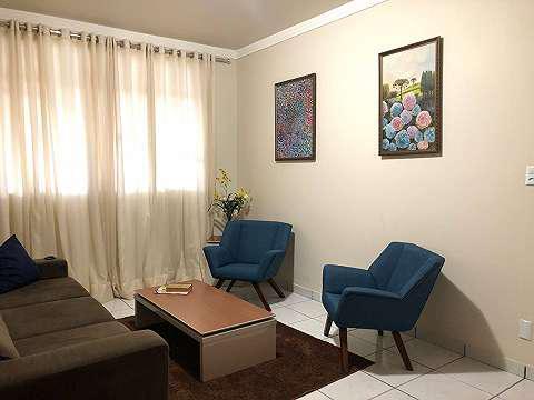 Apartamento mobiliado 03 quartos no setor oeste - goiânia
