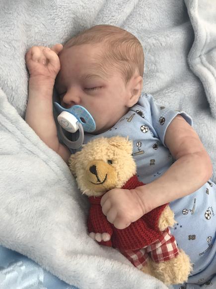 Bebê reborn arthur por encomenda
