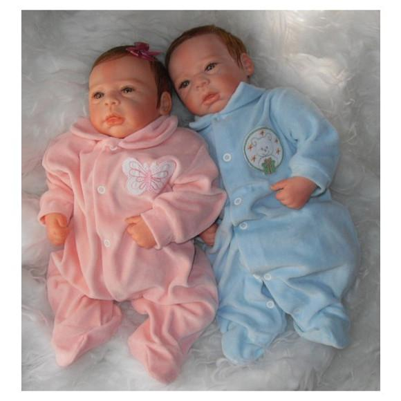 Bebê reborn gêmeos