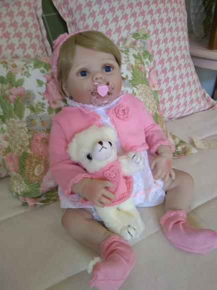 Bebê reborn manu corpo de silicone