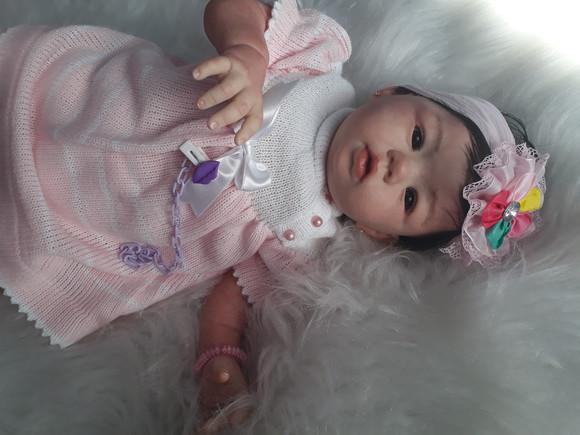 Bebê reborn sarah (encomenda)