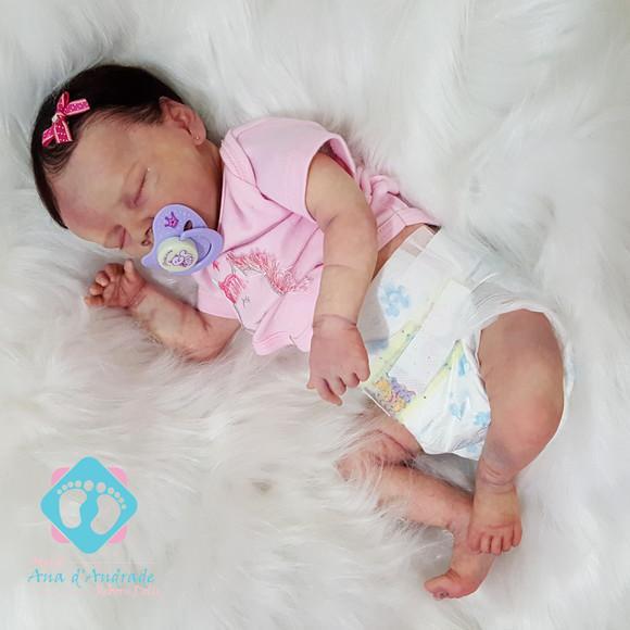 Bebe boneca reborn iara kit twin b hiper realista barata