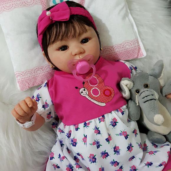 Bebe reborn mariah boneca linda