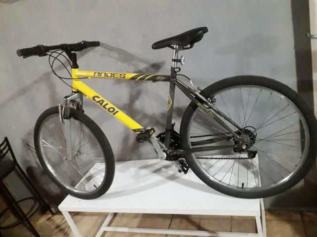 Bicicleta aro 26 caloi 21velocidades