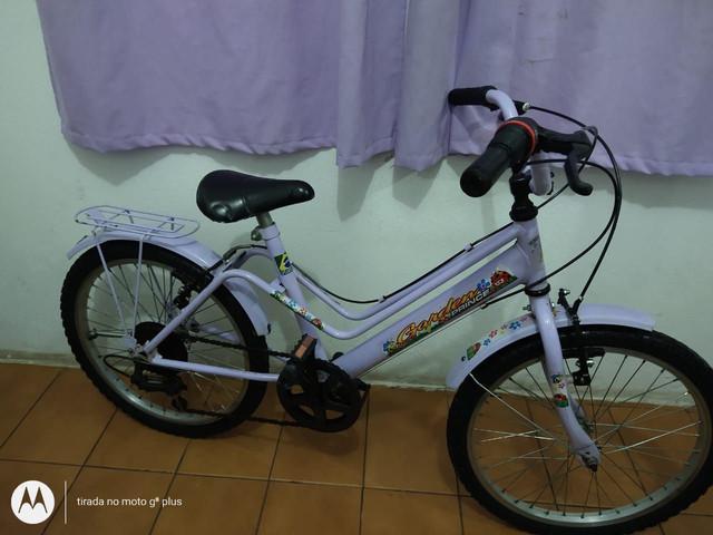 Bicicleta aro 20 prince 7 marchas usada