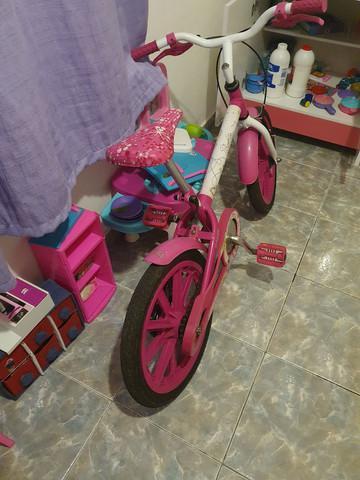 Bicicleta barbie caloi