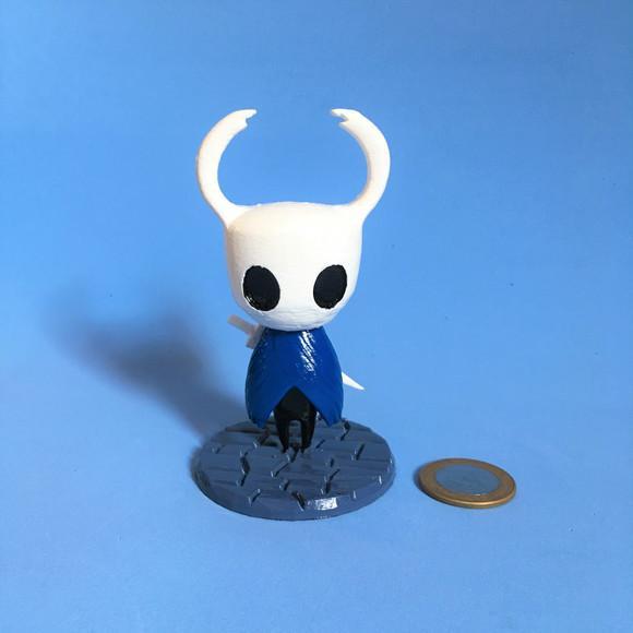 Boneco the knight - hollow knight - 10,5 cm - impressão 3d