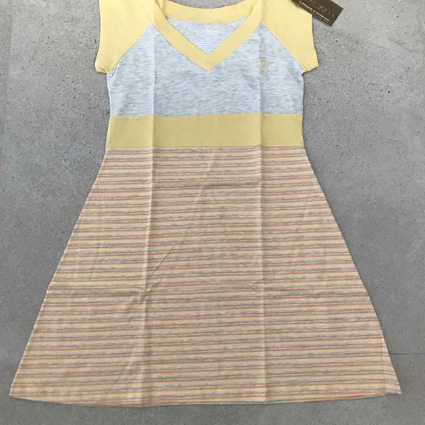 Camisola malha decote v# tamanho g#97% algodao#novo#com