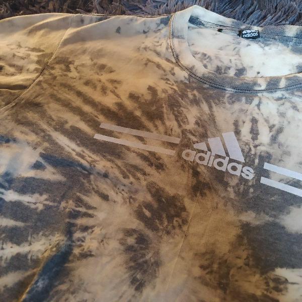 Camisa adidas tie dye personalizada