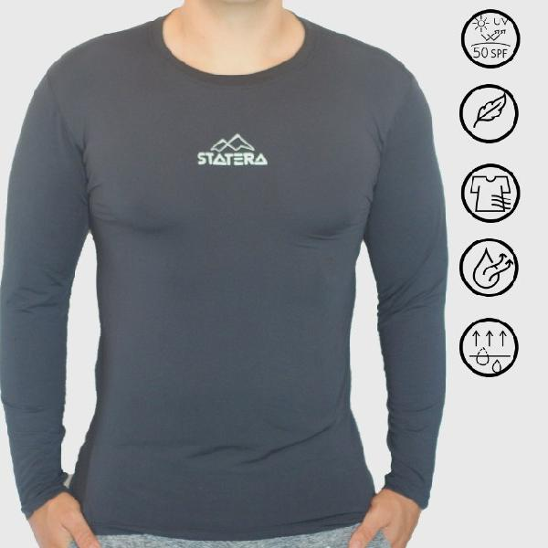 Camisa Masculina Manga Longa Proteção UV50
