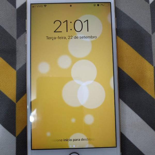 Celular iphone 7 plus 32 gb em perfeito estado de