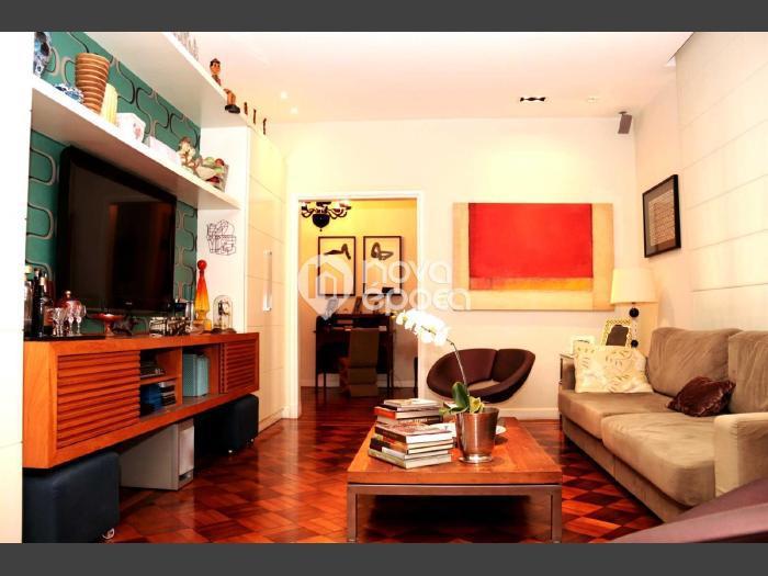 Flamengo, 3 quartos, 1 vaga, 155 m² rua senador euzebio,