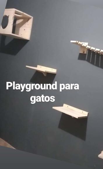 Kit playground para gatos
