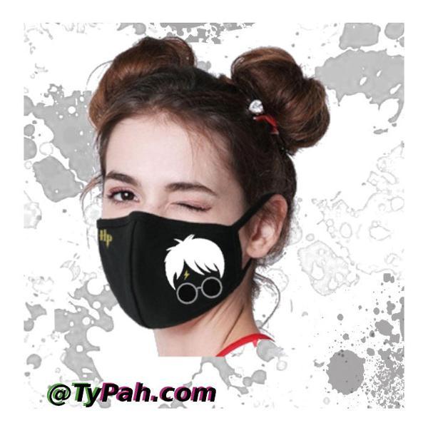 Mascara proteção harry potter - nerd geek gamer otaku -kit