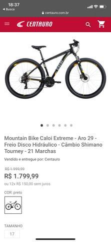 Mountain bike caloi extreme