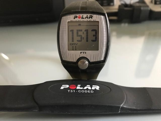 Pulsómetro polar t31-coded + relógio polar fti