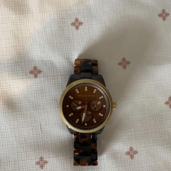 Relógio michael kors tartaruga mk 5038