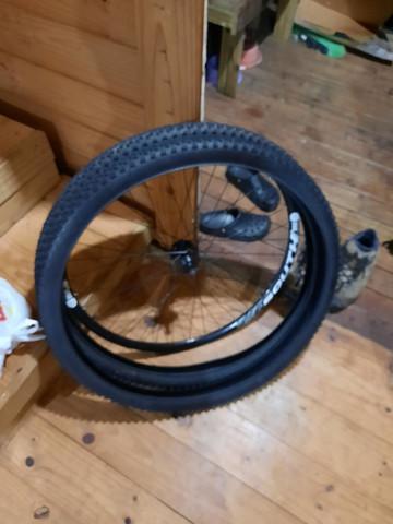 Roda traseira 29 freio disco e pneus