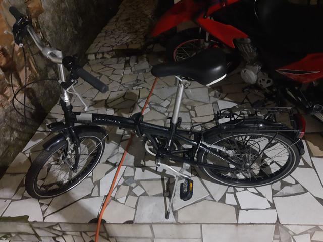 Vendo bike portátil italiana