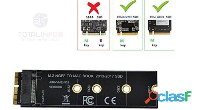 Adaptador macbook air a1465 a1466 pro a1398 a1502 a1419