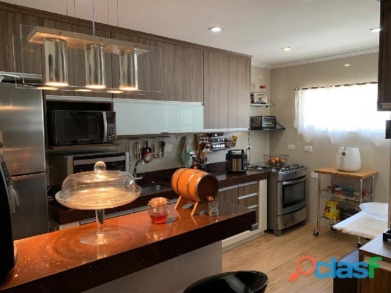 Apartamento 3 dormitórios 97 m² em santo andré   bairro campestre.