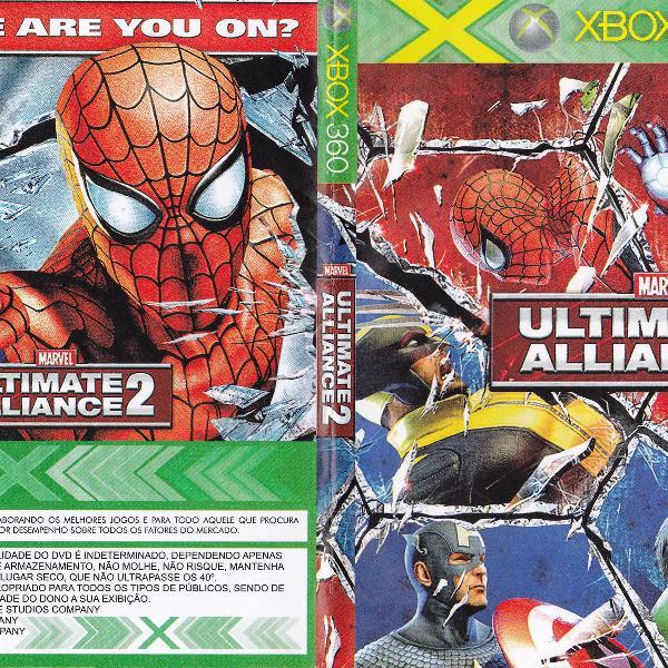 Jogo marvel alliance2 para xbox 360 - leia o anuncio