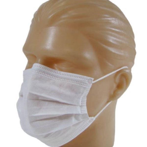Máscara descartável com elástico tripla proteção - 10