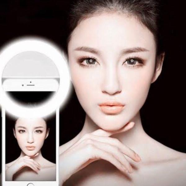 Selfie led anel flash light luz de preenchimento