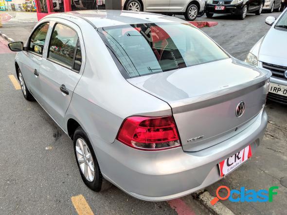 Volkswagen voyage 1.61.6 city mi total flex 8v 4p prata 2012 1.6 flex