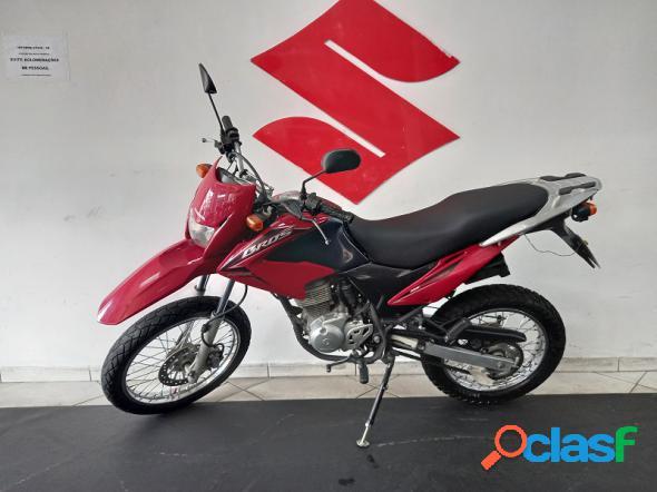 Honda nxr bros 150 esd vermelho 2012 150 flex
