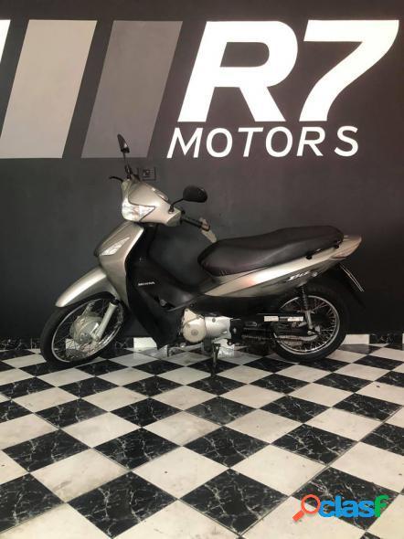 Honda biz 125 es es f.inj.es mix f.injection cinza 2009 125 gasolina