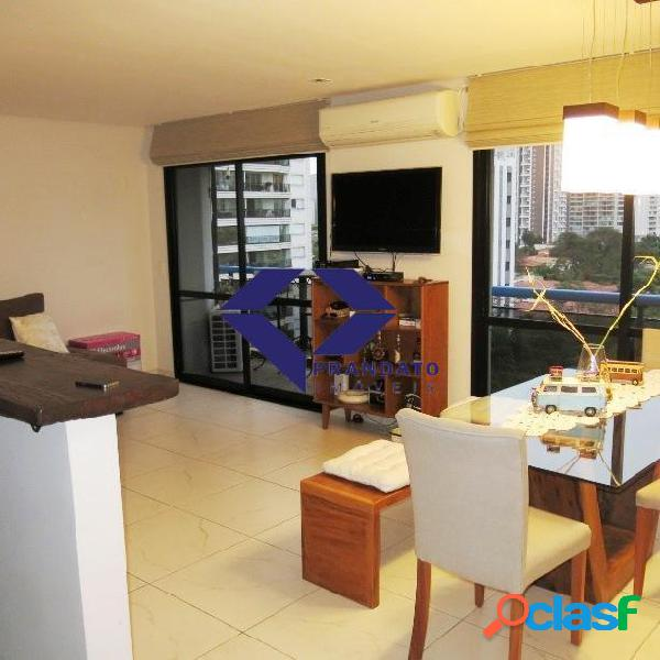 Apartamento brooklin reformado 3 quartos suite 2 vagas 104 m²