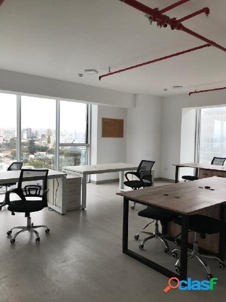 Alquilo oficina en edificio time - magdalena del mar