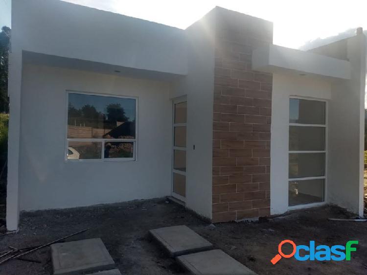 Casa nueva de un solo nivel