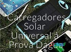 Carregadores solar universal a prova dagua