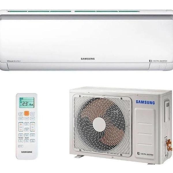 Ar condicionado samsung split inverter quente/frio 18000 btu