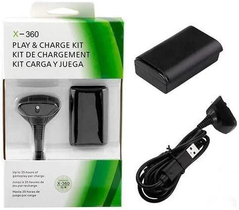 Bateria carregador controle xbox 360 pronta entrega