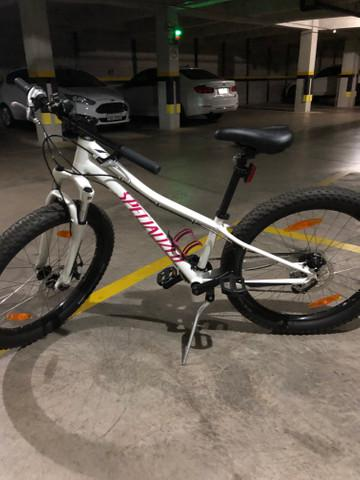 Bicicleta bike riprock 24- branco e rosa