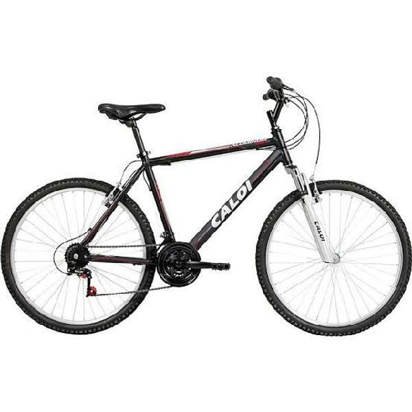 Bicicleta caloi alumínio 21v