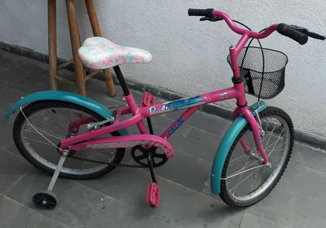 Bicicleta infantil caloi aro 20 feminina fashion com
