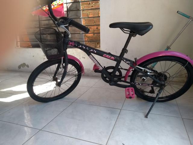 Bicicleta infantil caloi com marcha