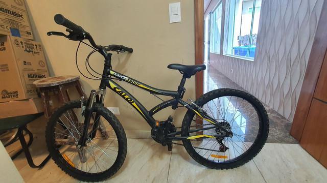 Bike caloi max front 21v aro 24 com suspensão dianteira