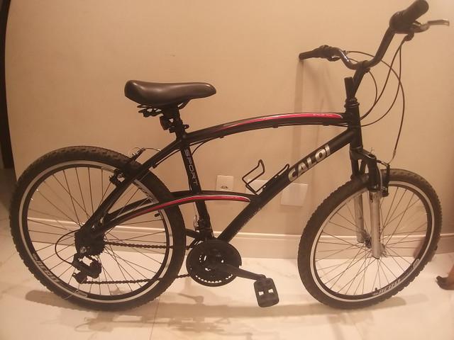 Bike aro 26 caloi 100 sport aluminium 21v