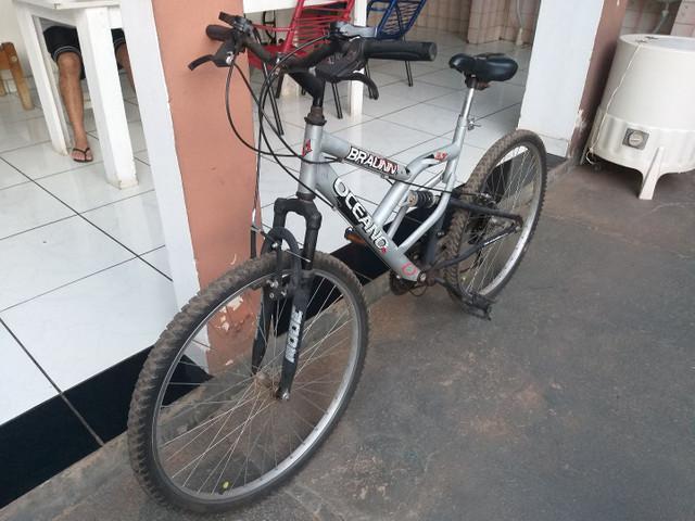 Bike semi nova 800 reais