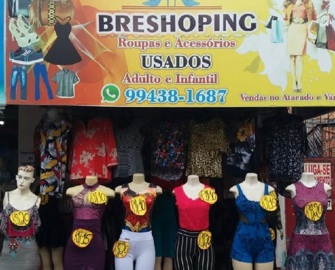 Breshoping roupas usadas