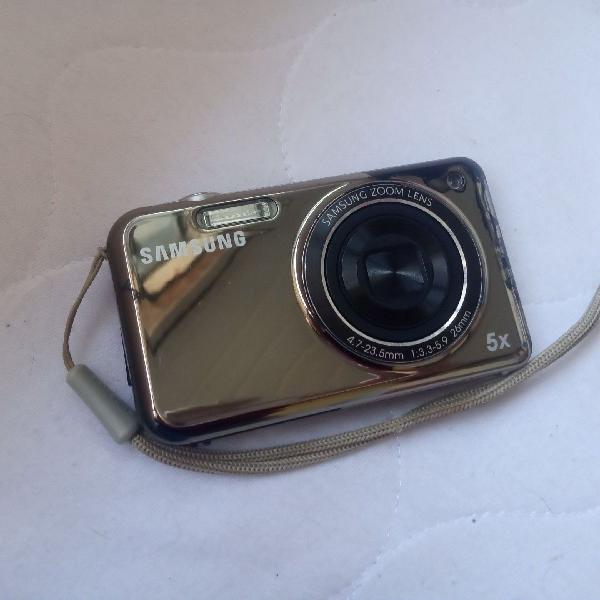 Câmera digital samsung com visor frontal