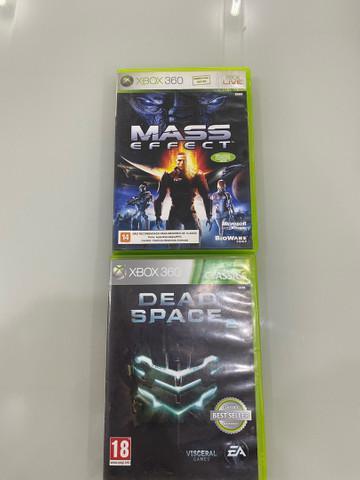 Dois jogos originais de xbox 360,00 r$50,00 os dois