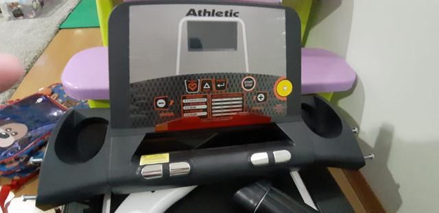 Es teira elétrica athletic racer - 16 km/h